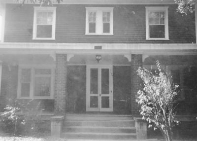 The Phi Ep house at 764 Williams St. NW (1933, donated by Burt Schwarz '36)
