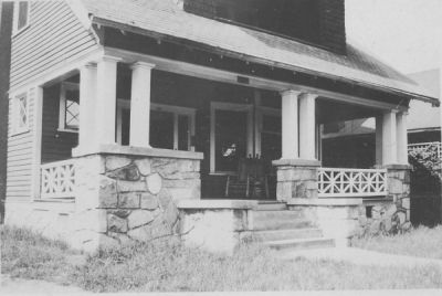 The Phi Ep house at 64 4th St. NW (June 1932, donated by Burt Schwarz '36).-2