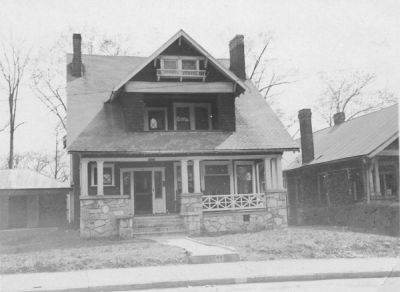 The Phi Ep house at 64 4th St. NW (June 1932, donated by Burt Schwarz '36)