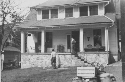 The Phi Ep House, located at 733 Williams St. NW (1949, donated by Ernest Scheller '52)