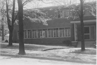 The new house (October 1950, donated by Ernest Scheller '52)