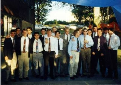 New Brother Sunday 1991-The new brother class (Fall 1991)