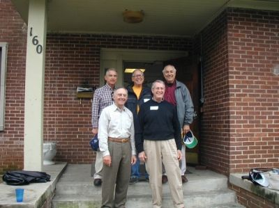 2002 Homecoming- Brothers from the Class of '57 reunion